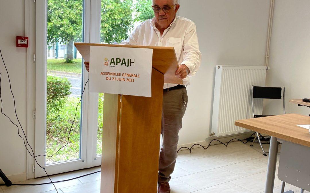 Assemblée Générale APAJH du Loiret du 23 juin 2021